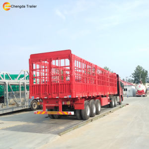 Dry Van Trailer Fence and Side Wall Cargo Trailer pictures & photos