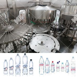 Automatic 1 Liter Bottle Capping Filling Line pictures & photos
