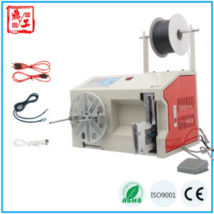 Semi Automatic Cable Winding Bundling Machine pictures & photos