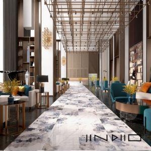 China Large Bathroom Wall Tiles Big Slab Full Body Marble Porcelain Floor Tiles For 750x1500mm China Modern Style Tile Grey Marble Tile