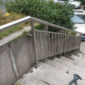 China Indoor Outdoor Stair Railing Iron