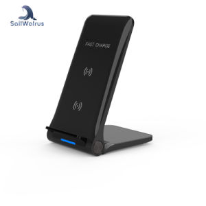 hot sale online 9945d feb1d Savorigroup S22 Two Colors Qi Wireless Charger Fast Charging for iPhone Xr