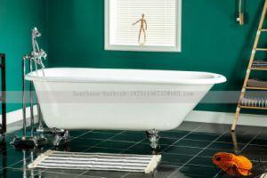 Cast Iron Bathtub With Claw Foot/Feet Factory Southsea Bath Luxury Bathtub  Made In
