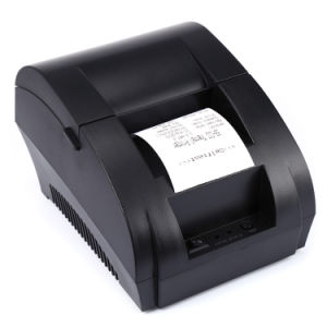 USB 58POS Invoice Bill Thermal Receipt Printer with 90mm Printing Speed  with Cash Drawer Port Android Sdk Thermal Printer