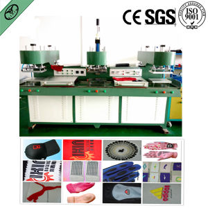Liquid Silicone Label Making Machine, Making Silicone Label on The Fabric and Make Silicone Rubber Patch (LX-S05) pictures & photos
