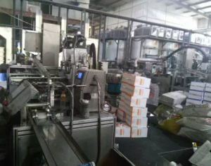 Silicone Packaging and Sealing Machine Full Automatic Filling Machinery pictures & photos