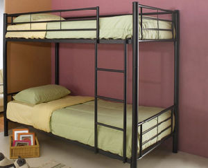 Kid Adult Using Modern Strong Metal Iron Bunk Bed