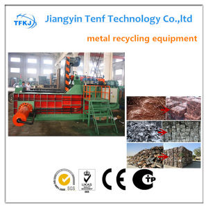 Tfkj Automatic Hydraulic Scrap Metal Compressor Machine pictures & photos
