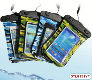 Popular Jelly TPU Waterproof Case for HTC One M7