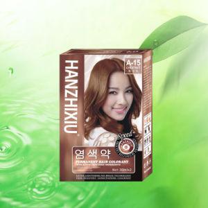 China 30mlx2 Famous Brand Hair Color Dye Hanzhixiu Permanent Names