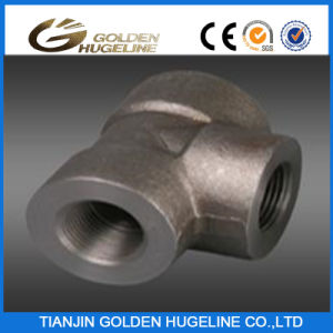 High Pressure Asme B16.11 Forged Carbon Steel Tee (A105) pictures & photos