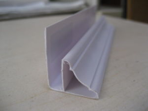 PVC Corner - Wrinkle Surface pictures & photos