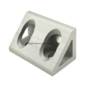 3060 4 Hole Inside Aluminum Extrude Angle Bracket Gusset pictures & photos