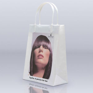 High Quality Printed Clip Handle Shopping Bags for Garments (FLC-8108)