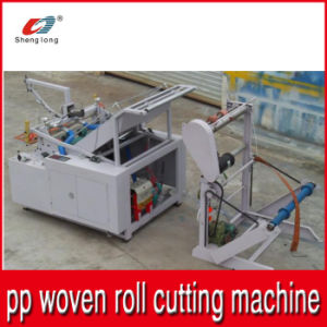 Automatic Cutting Machine for Plastic PP Woven Fabric Roll to Pieces pictures & photos