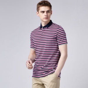 China Manufacturer Polo T Shirts for Men Soft and Breathable Men′s Polo Shirts Fitness Mans Polo pictures & photos