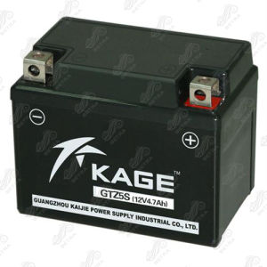 Motorcycle Battery (GTZ5S) 12V-4.7Ah
