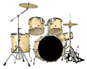 Drum Set 5 PCS/ Drum Kit Wood (DT2253) pictures & photos