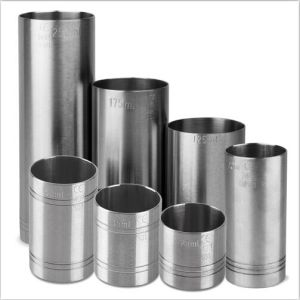 Stainless Steel Thimble Bar Measures