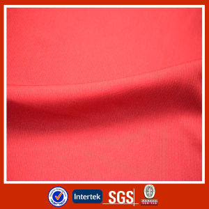 Solid Rib Dyed Polyester Fabric pictures & photos