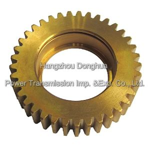 ANSI DIN Stnadard Transmission Gear Pinion pictures & photos