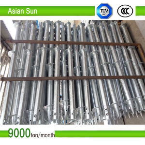 Galvanized Ground Screw Pile for Solar Mounting Construction pictures & photos