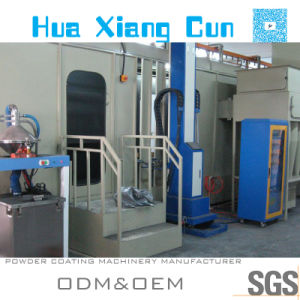 Small- Cyclone Powder Recovery Electrostatic Powder Coating (Booth) Line (HX1301)