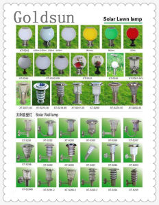 LED Solar Wall /Garden Lamp and Outdoor Solar Lawn Lamp pictures & photos