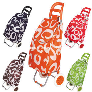 2 Wheels Shopping Trolley Bag (XY-404B1) pictures & photos
