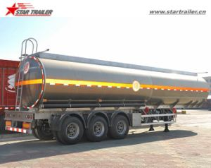 Food Grade Tanker Semi Trailer with Stainless Steel Material pictures & photos
