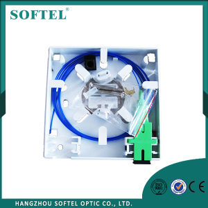 Indoor Wall-Mounted Sc/FC Adaptor Nap FTTH Optic Fiber Junction Box pictures & photos