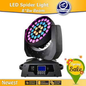Hot New Products for 2015 36*10W RGBW 4 in 1 Zoom Wash LED Moving Head Light