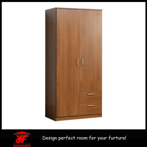 China Latest Design Wooden Closet Cabinet Simple Mini Bedroom