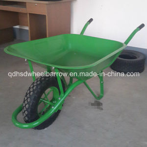 Green Color Middle East Market Wheelbarrow Wb6400