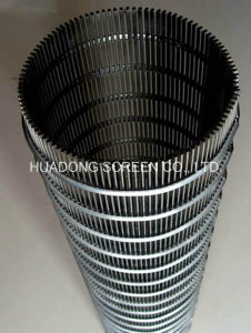 Factory Wedge Wire Screen/Johnson Pipe/Wire Wrapped Water Well Screen pictures & photos