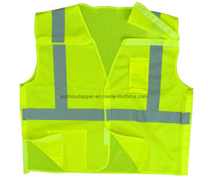 High Visibility 5-Point Safety Vest (US006)