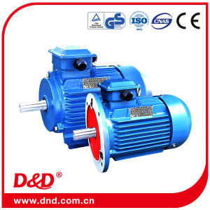 Y2 Series Three-Phase AC Motors for Africa, Southeast Asia, East Asia Tubular Squirrel Cage Electrical/Electric Tefc Fan Single Phase Induction AC Motor