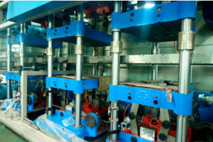 Forming-Punching-Cutting-Stacking Plastic Box Forming Machine pictures & photos