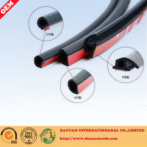Adhesive Foam Rubber Sealing Strip with Tape