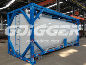 LPG LNG Storage Tank 20 Feet ISO Tank Container