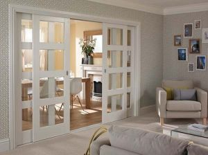 Solid Wood Framed Glass Doors pictures & photos