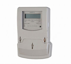 Single Phase Two Wire Electronic Energy Meter (Dsm228c-03, ABS Casing, Long Type Terminal Cover)