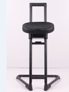 ESD Sit Stand Chair Anti Static PU Foam Chair Cleanroom Lab Chair (FS-524091)
