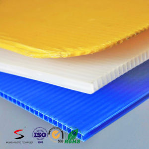 Corrugated PP Board Hollow PP Sheet pictures & photos