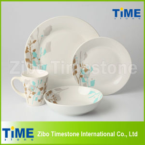 Round Shape Customized Porcelain Dinnerware pictures & photos