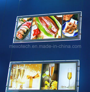 High Quality Acrylic LED Menu Light Box for Restaurant pictures & photos