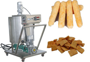 Hot Sale Core Filled Chocolate Corn Puff Snack Food Making Machine pictures & photos