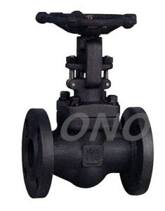 Forged Steel Through Way Flange Type Globe Valve pictures & photos