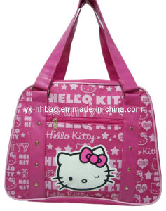 Polyester Childern Travel Tote Bag for Sale (YX-HB-0156)