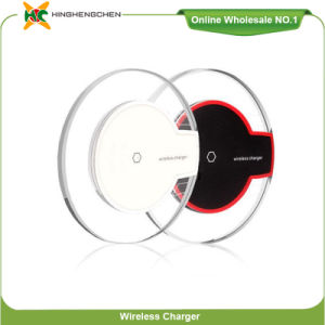 Universal Fast Wireless Charger for Mobile Phone Support Customize Logo pictures & photos